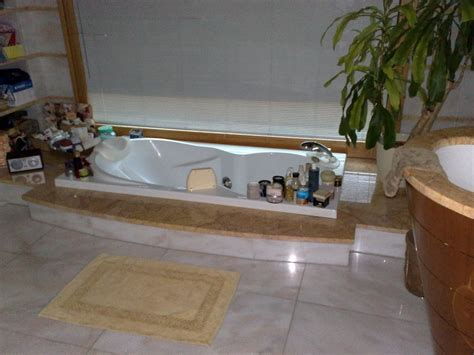 bagno con vasca incassata foto vasca da bagno incassata di impresa edile geom