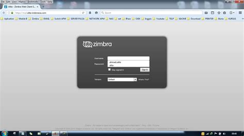 tutorial zimbra email tutorial reset password email zimbra outlook