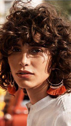 mica hughes natural hair andie macdowell natural curls big curly hair pinterest