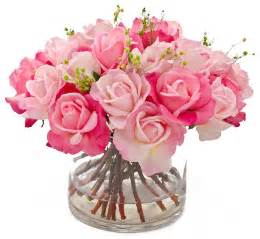roses centerpieces arrangements real touch faux floral arrangements centerpieces