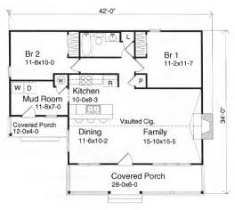 Cabin Plans Under 1000 Sq Ft by Gallery For Gt Small Cottage House Plans Under 1000 Square Feet