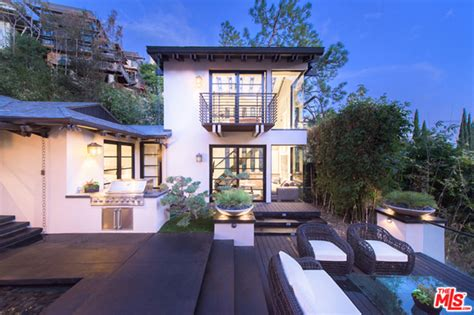 house to buy in los angeles dj calvin harris also known as taylor swift s boyfriend is selling his home above the sunset