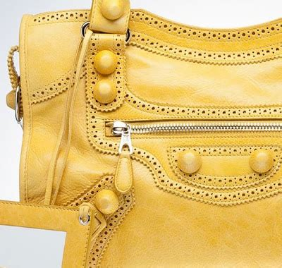 Tas Fashion City Zipper Top Handle Seprem shopping for balenciaga covered moutarde yellow city