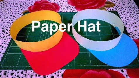 How To Make A Paper Hat A4 - how to make paper hat diy
