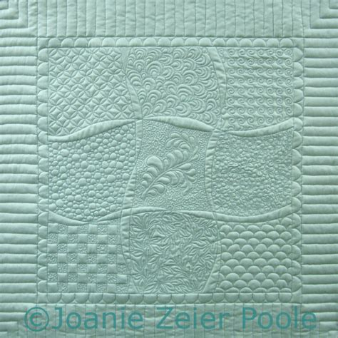 joanie zeier poole machine quilting classes and on