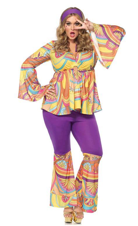 80 S Accessories For Plus Size by Plus Size 70 S Retro Costume Plus Size S Hippie