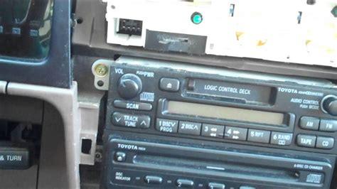 toyota tacoma pioneer ubt radio installation youtube