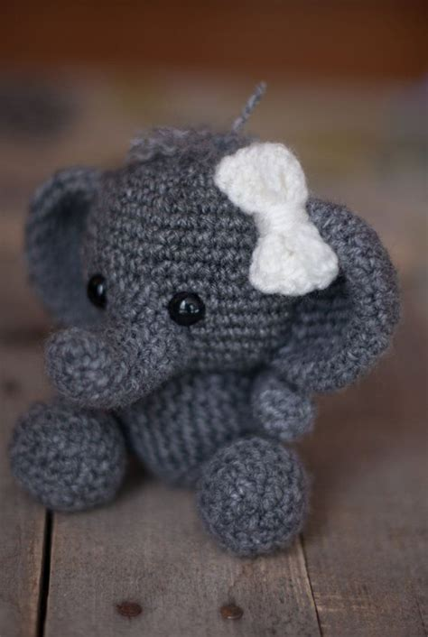 pattern crochet animal pattern crochet elephant pattern amigurumi elephant