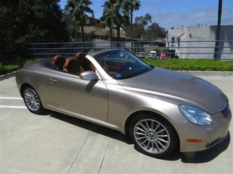 buy car manuals 2002 lexus sc parking system sell used 2002 lexus sc430 sport convertible 2 door 4 3l fully loaded low miles one owns in