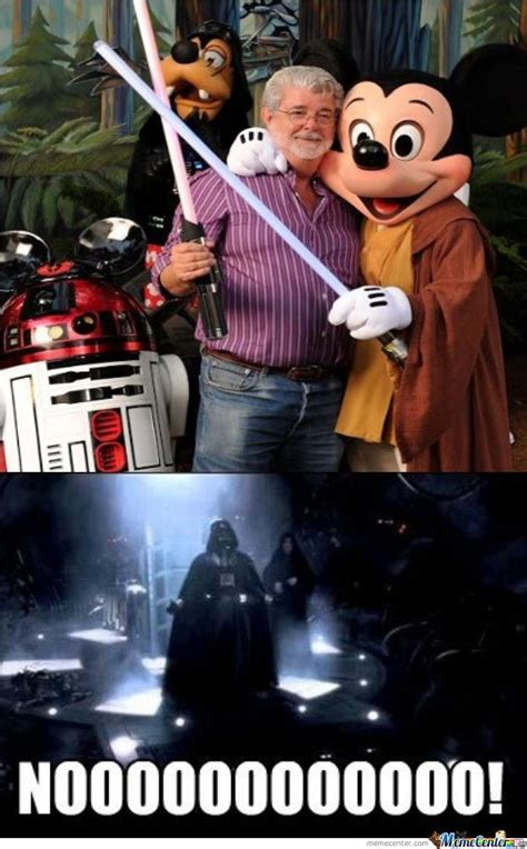 Star Wars Disney Meme - disney buys star wars by sniperswhosayni meme center