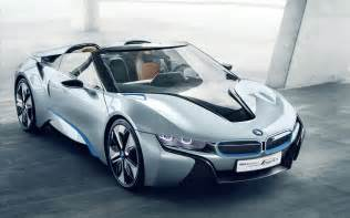 The Bmw I8 Bmw I8 Spyder Concept Car Wallpapers Hd Wallpapers