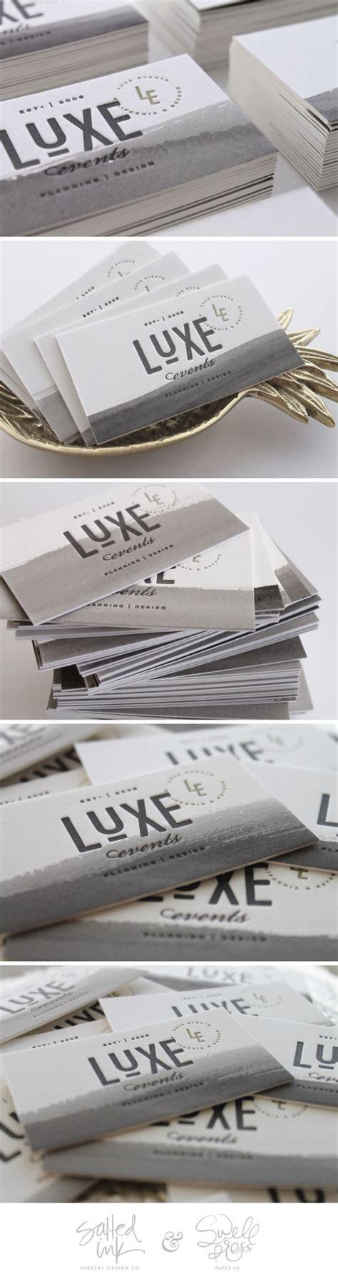 design luxe event co business card design logo designer bradenton web design