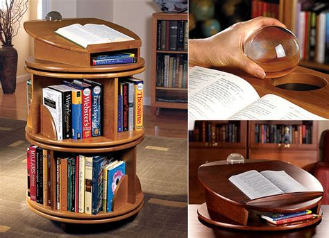 carousel revolving bookcase revolving bookcase wood