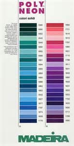 madeira thread colors madeira thread chart color list