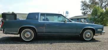 1985 Cadillac Eldorado Biarritz Value 1985 Cadillac Eldorado Biarritz Coupe 2 Door 4 1l