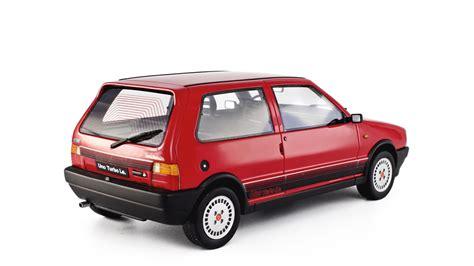 fiat uno car fiat uno turbo i e model car 1 18 1985 1 176 serie laudoracing