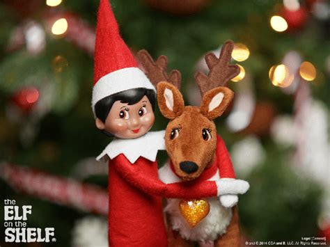 The On The Shelf Reindeer by On The Shelf Ideas Hug It Out The On The Shelf