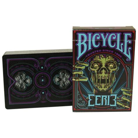 custom bicycle deck bicycle eerie deck purple 11 95 gamblers warehouse