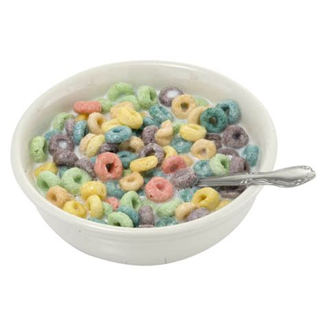 fruity o s cereal cereal bowl of fruity o s