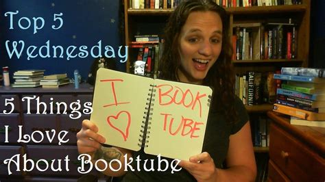 Top 5 Things Wed Like On The Next Ipod by Top 5 Wednesday 5 Things I About Booktube