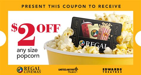 Regal Cinemas Gift Card Promo Code - redeem your 25 target gift card for a coupon to get 2 off any size popcorn at regal