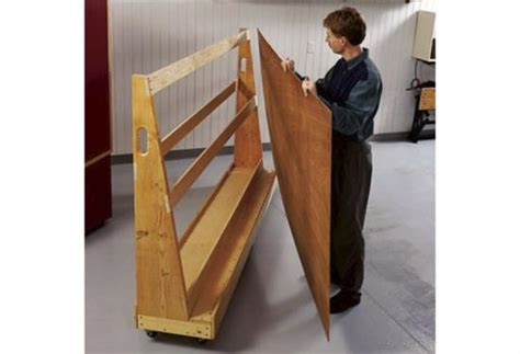 roll  plywood cart