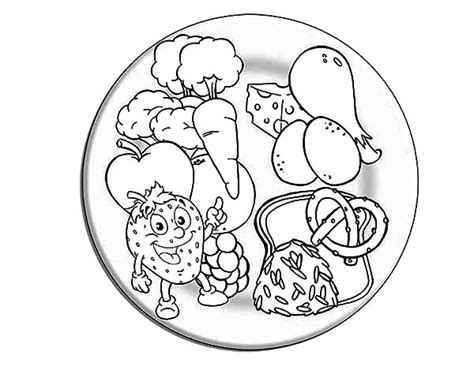 how do you make black food coloring free coloring pages of eat a healthy breakfast