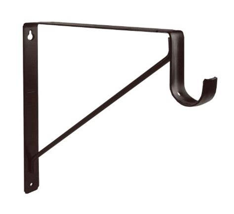 Closet Shelf Supports by Shelf Brackets Rubbed Bronze Shelf And Closet Rod Support