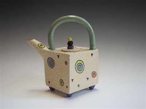 circle circle teapot by vaughan nelson ceramic teapot