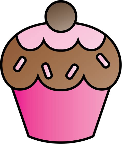 downloadable clip cupcake clipart free images 5 2 gclipart