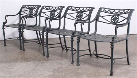 Mission Style Patio Furniture Florentine Craftsman Style Patio Set At 1stdibs