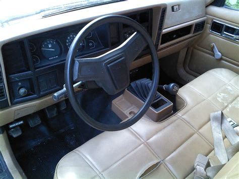 Comanche Interior by 1986 Jeep Comanche Pictures Cargurus