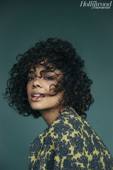 70s hairstyle pictures reporter look tessa thompson for the hollywood reporter photographed by