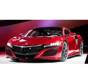 Honda 2016 Acura NSX Revealed At 2015 New York Auto Show