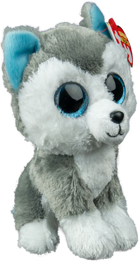 Kitchen Collectables Store by Beanie Boos Slush The Husky Dog Slush Beanie Boo