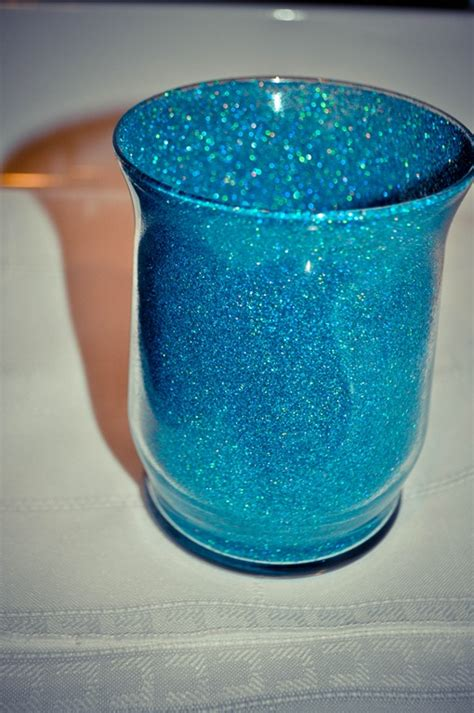 How To Make Glitter Vases by Indecisive About Vases Help Weddingbee