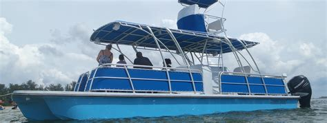 pontoon dive boat catamaran coaches not just a boat it s a lifestyle