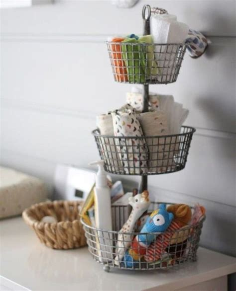 kitchen basket ideas 20 simple and practical nursery organization hacks home