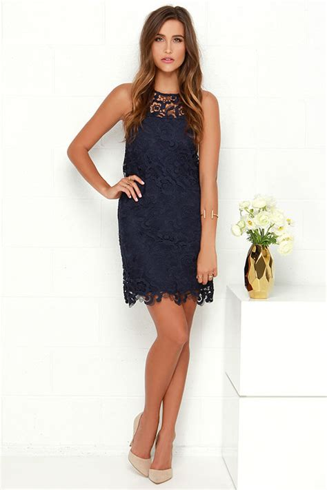 Pearl Dress By Finoura Navy black swan pearl dress navy blue dress lace dress 95 00