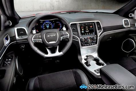 srt jeep 2016 interior 2016 jeep grand srt hellcat interior dash