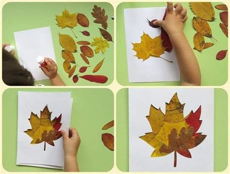 leaf craft for leaf crafts activities for fall funnycrafts