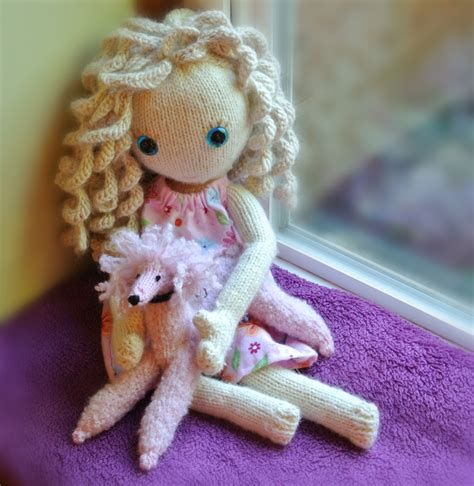 how to knit a doll doll vuchickens