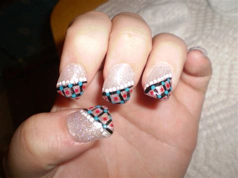 pattern fingernails favorite nail design ideas for prom nail picture art