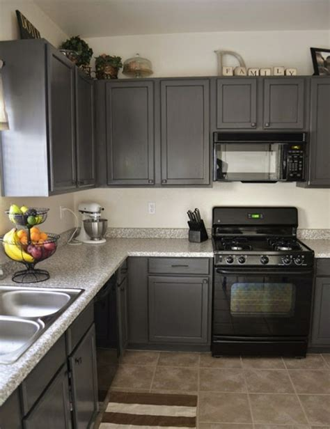 I Want To Paint My Kitchen Cabinets White 124 Best Images About Kitchen On Floors Gray Cabinets And Black Appliances