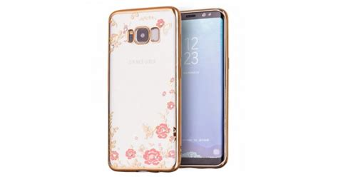 Casing Hp Samsung C5 Colorful Flower Custom Hardcase oem samsung galaxy s8 plus θήκη σιλικόνης bloomy flower gold