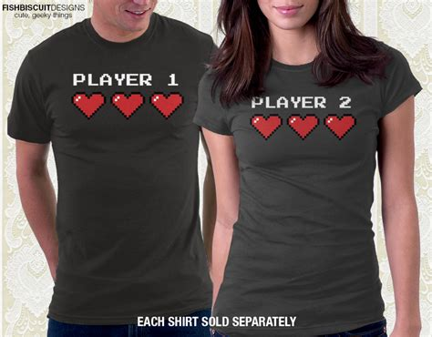 Tshirt Live In Limbo One Clothing groom player 1 player 2 couples t shirts