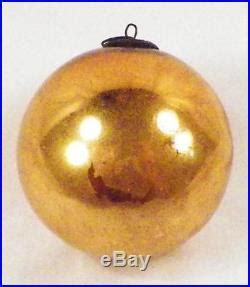 Chistmas Ornament Type E 03 2914 antique kugel ornament gold mercury glass german 3 5in ornament glass