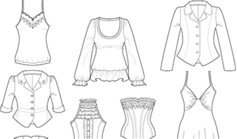 how to design clothes using illustrator using adobe illustrator for fashion design how to draw