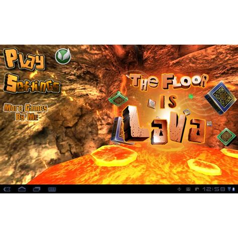 The Floor Is Lava by The Floor Is Lava Free App Of The Day
