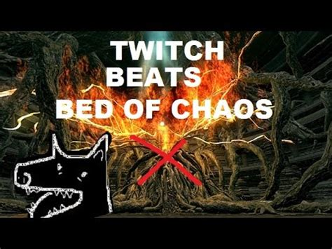 bed of chaos dark souls twitch plays dark souls the bed of chaos defeated youtube